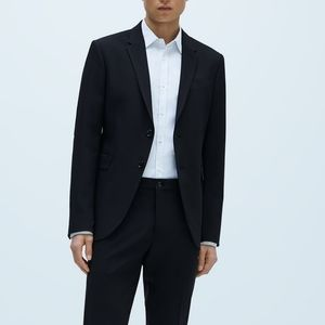 ZARA Man black suit jacket size 40